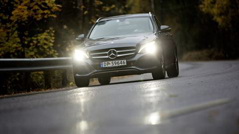 Mercedes-Benz C-klasse gikk helt til topps i DNs Firmabiltest 2014. Foto: Alexander Nordahl