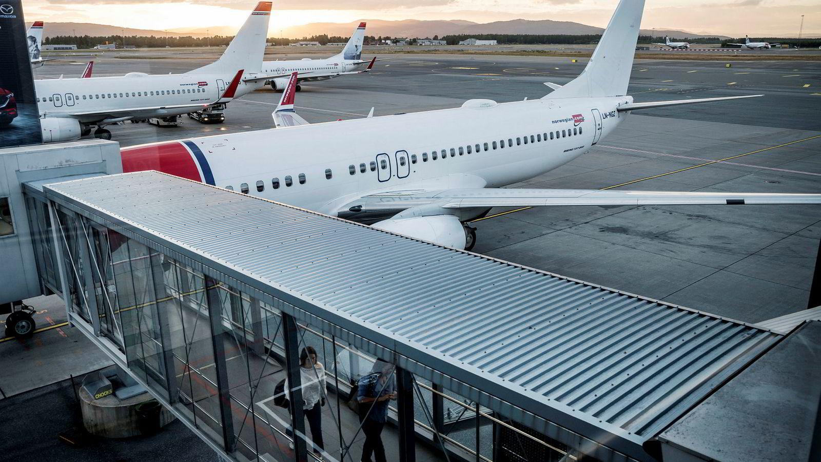 Norwegian har brukt verdiene av både gamle og nye fly aktivt for å få mer penger inn i kassen denne vinteren.