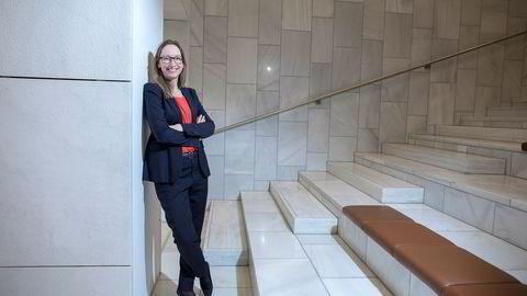 Sjeføkonom Kjersti Haugland i DNB Markets venter en ytterligere opptrapping av handelskrigen mellom USA og Kina. Nå kutter meglerhuset sine vekstanslag for de fleste land.