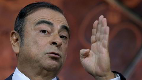 Styreformann og konsernsjef Carlos Ghosn i Nissan, Ranault og Mitsubishi Motors er arrestert i Japan for ikke  ha innrapportert alle inntekter. Han skal også ha misbrukt stillingen som styreformann i Nissan og kjøpt ferieeiendommer til privat bruk i Rio de Janeiro og Beirut.