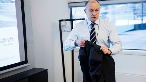 – Jeg mener fortsatt en fusjon ville vært industrielt riktig, sier Christian Rynning-Tønnessen (58), konsernsjef i Statkraft.