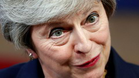 Det er ventet en kunngjøring om brexit fra Storbritannias statsminister Theresa May mandag.