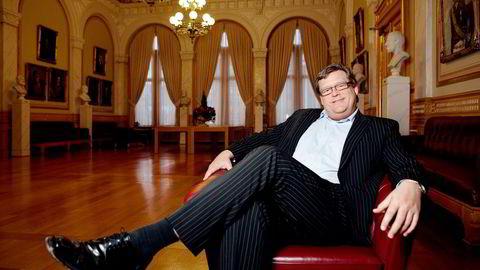 KJØPTE DOMENE. Parlamentarisk leder Harald T. Nesvik og Frps stortingsgruppe eier domenenavnet Oljefondet.no. Foto: Elisabeth Sperre Alnes