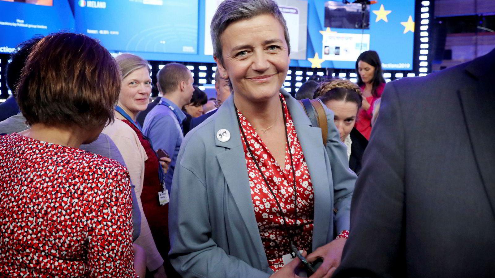 Den danske konkurransekommissæren Margrethe Vestager seiler opp som en het kandidat til å overta den mektigste jobben i EU som president for Europakommisjonen etter Jean-Claude Juncker.