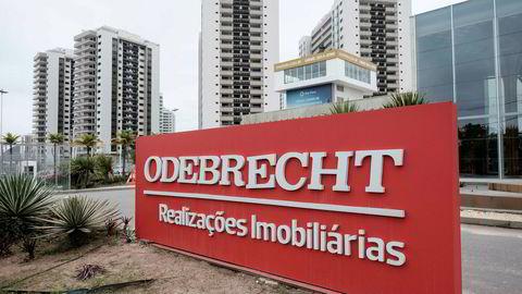 Skandaleselskapet Odebrecht søker konkursbeskyttelse.