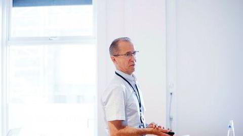 Fred. Olsen Energy-sjef Ivar Brandvold arbeider for å redde selskapet. Nå får han hjelp av noen av sine egne långivere.