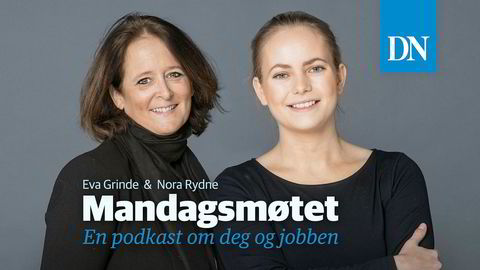 Eva Grinde og Nora Rydne får besøk av Bente Træen i ukas mandagsmøte.