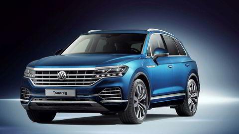 Volkswagen Touareg blir toppmodellen blant Volkswagens modeller.