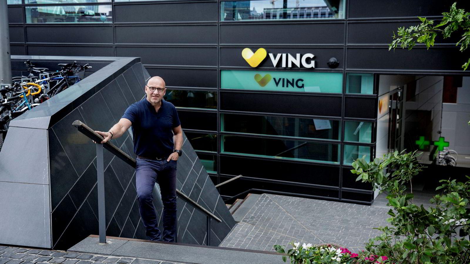 Christian Fredrik Grønli, administrerende direktør og daglig leder i Ving As. Ving er heleid av Thomas Cook Group, som gikk konkurs mandag.
