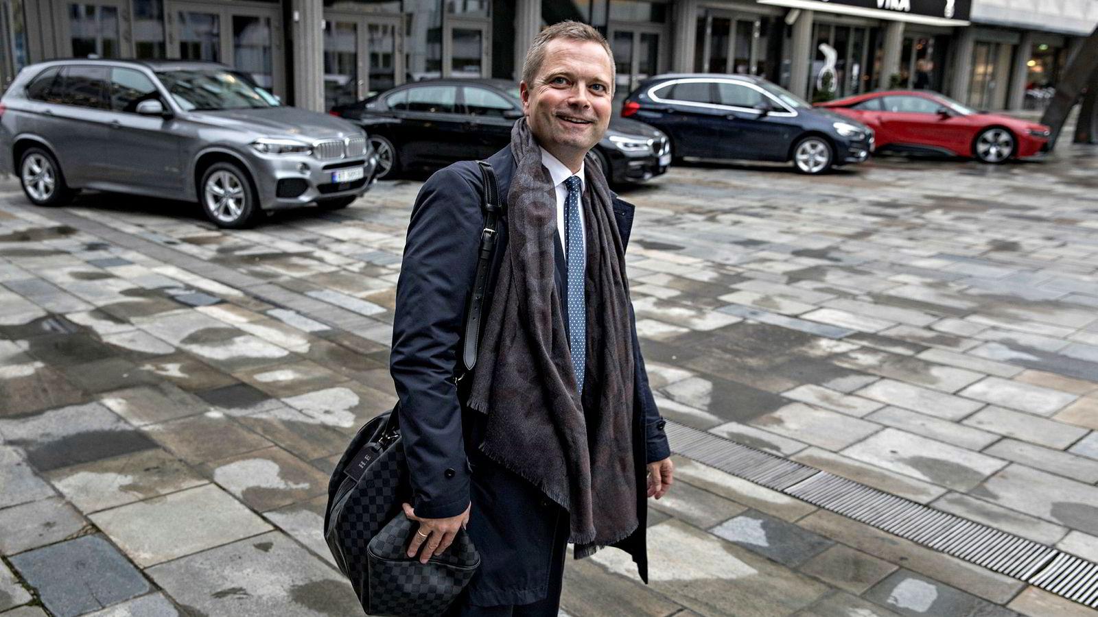 – Jeg tror vi har en korreksjon og ikke nedgang, sier investor Harald Espedal.