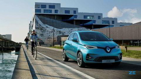 Renault Zoe får større batteri.