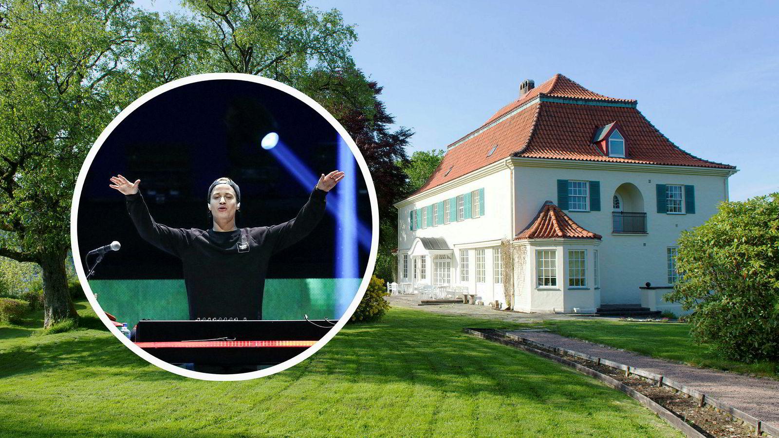 Popstjernen Kyrre Gørvell-Dahll, kjent som Kygo, eier Bergens dyreste hus som ligger i Hopsnesvegen 120 i Bergen. Prisen var 41 millioner kroner.