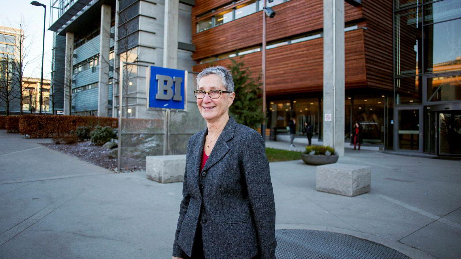 Peggy Brønn er professor på BI.