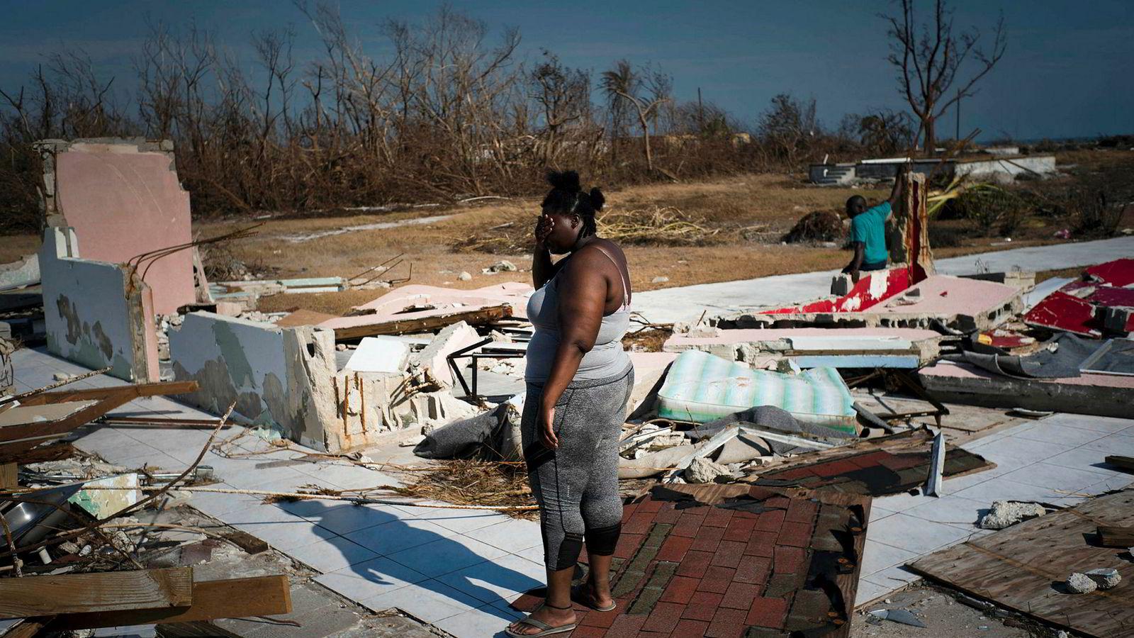 Ødeleggelsene er store etter orkanen Dorians herjinger på Grand Bahama.