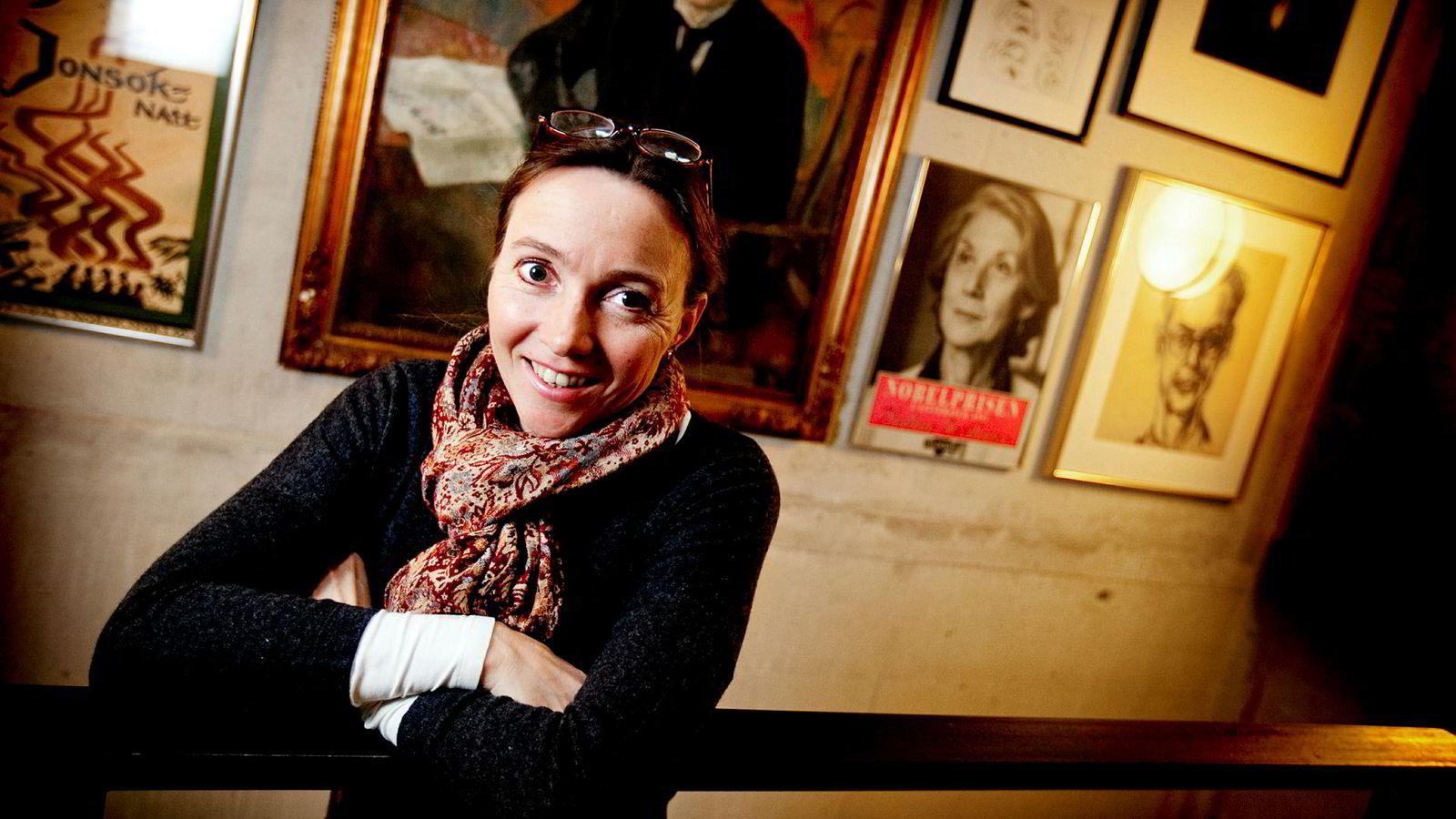 Ingrid Eia Ryvarden, nåværende sakprosaredaktør i Gyldendal, har jobbet med bøker hele sitt liv.