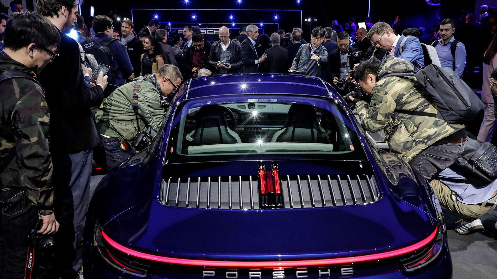 Denne uken ble Porsche 911 i såkalt 992-generasjon vist frem i Los Angeles.