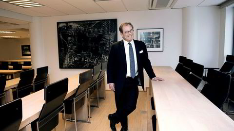 ABG Sundal Collier og toppsjef Knut Brundtland vil nå også kunne tilby folkefinansiering etter å ha kjøpt seg inn i Kameo.