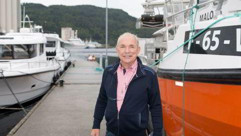 Administrerende direktør Johannes Ersnes i verftet Jemar Group frykter handelskrigen mellom Kina og USA.