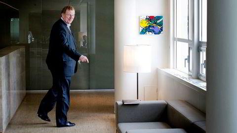 IM Skaugen er kontrollert av søsknene Elenor M.S. Falkenberg, Monica Irmelin Skaugen og Morits Skaugen med 36 prosent. Morits Skaugen (bildet) er også konsernsjef. Bildet er tatt i 2011.