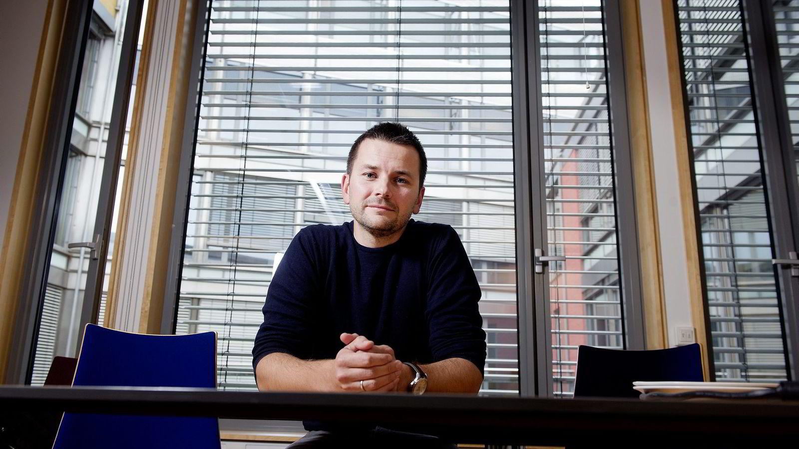 Ny sjefredaktør i Bergens Tidende, Øyulf Hjertenes