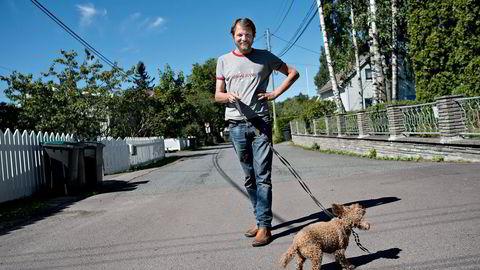 Forfatter Tom Egeland. Foto: Fartein Rudjord