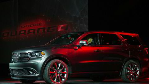 Dodge Durango, illustrasjonsfoto fra avduking av facelift i 2013.