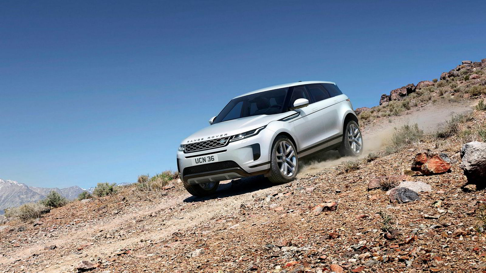 Nye Range Rover Evoque er til forveksling lik Range Rover Evoque.