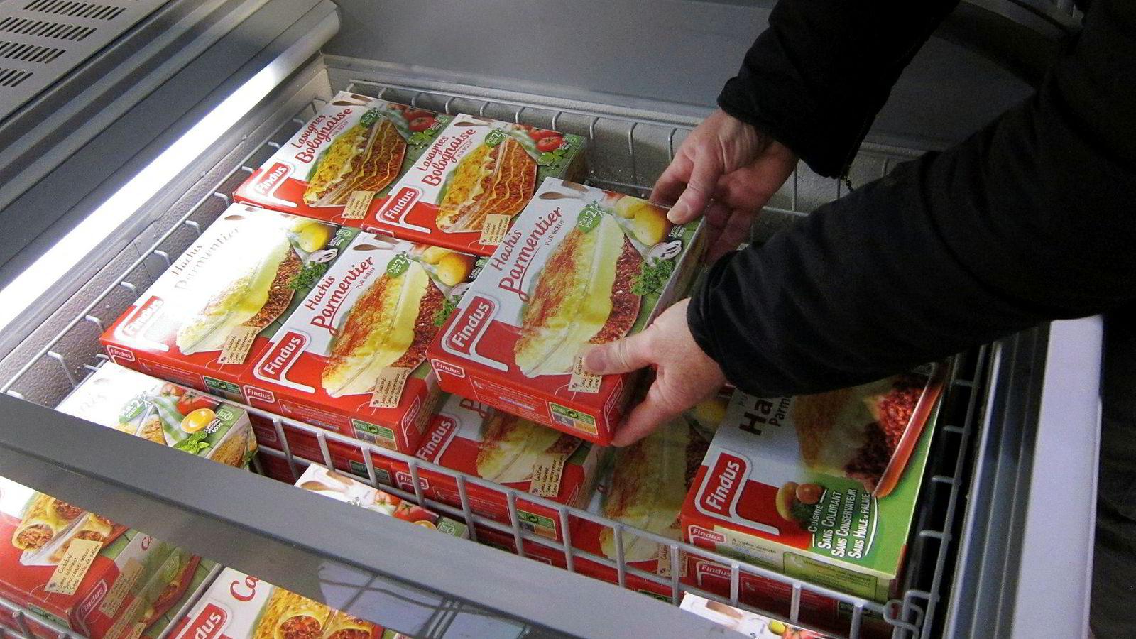 Findus er et av en rekke europeiske selskaper som har mottatt trusselbrev om forgiftning av matvarer.