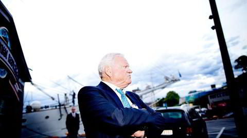 Exmar-toppsjef Nicolas Saverys sier at både han og John Fredriksen (bildet) var innstilt på å gjennomføre fusjonen. Foto: Ida von Hanno Bast