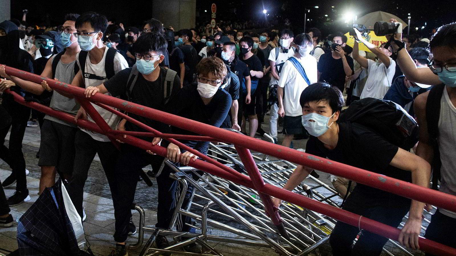 I den største demonstrasjonen på minst 15 år tok massene sterk avstand mot planene om å tillate utlevering av fanger til Kina.