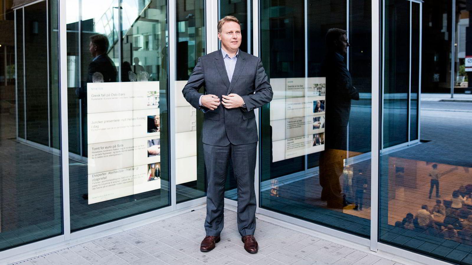 NY BANKHVERDAG. Digitaliseringen foregår i rekordfart, slår konserndirektør Trond Bentestuen fast i forkant av DNBs kapitalmarkedsdag i dag.