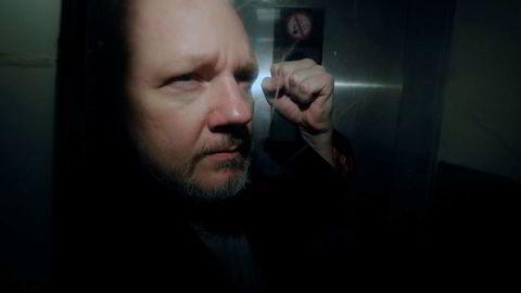 WikiLeaks-grunnlegger Julian Assange ble fengslet tidligere i år etter å ha tilbrakt flere år i Ecuadors ambassade i London.
