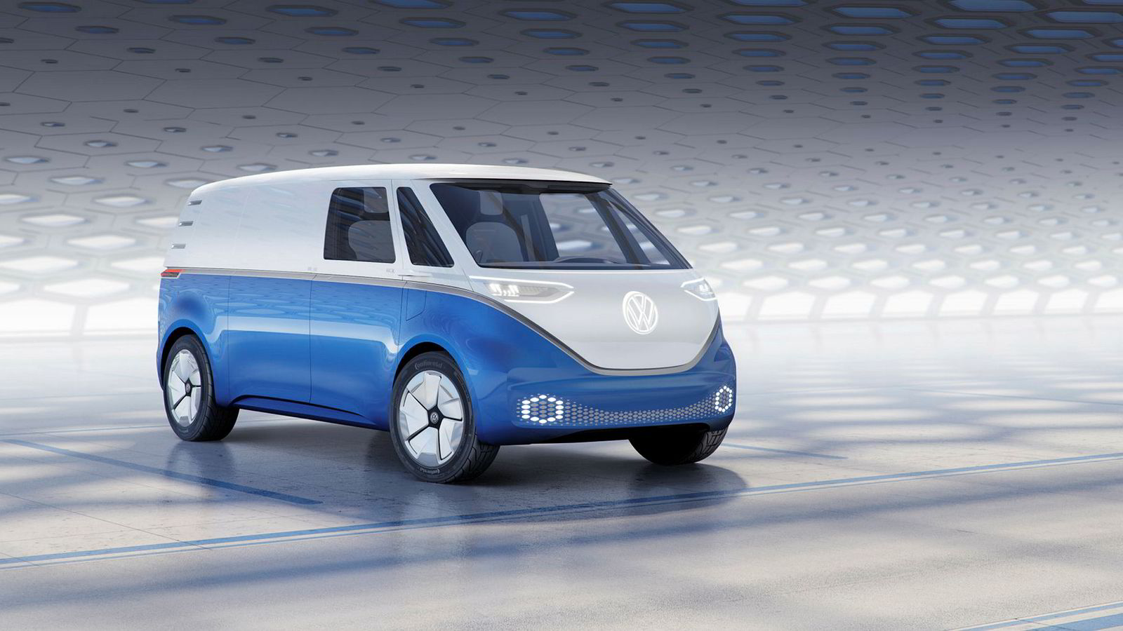 Dessverre er ikke dette den første elvarebilen, men Volkswagen har åpnet for at I.D. Buzz Cargo kan være i produksjon allerede i 2021.
