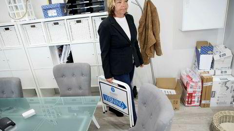 Monica Ekstrøm startet opp Elitebo på Stovner Senter våren 2016. Nå er selskapet konkurs, og Ekstrøm har ingen planer om å bli gründer igjen. Foto: Øyvind Elvsborg