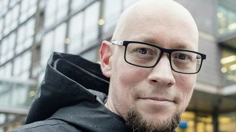 Rune Fjeld Olsen i Level Up. Foto: Mikaela Berg