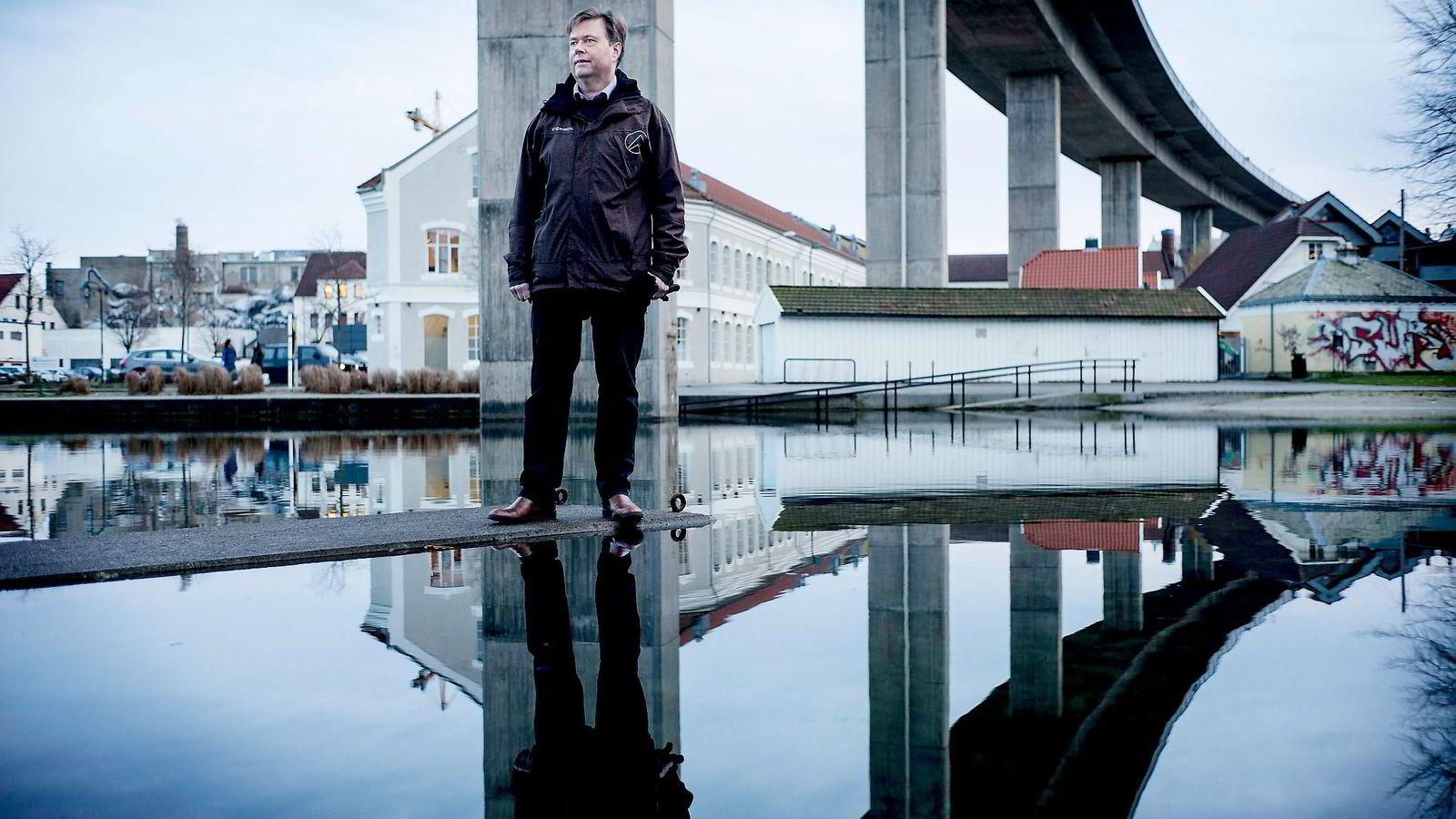 Programutvikler Geir Ove Nesvik har takket ja til sluttpakke, og er en av stadig flere i Rogaland som er uten arbeid. Nå tyder statistikk fra Nav på at ledigheten vil øke videre. Foto: