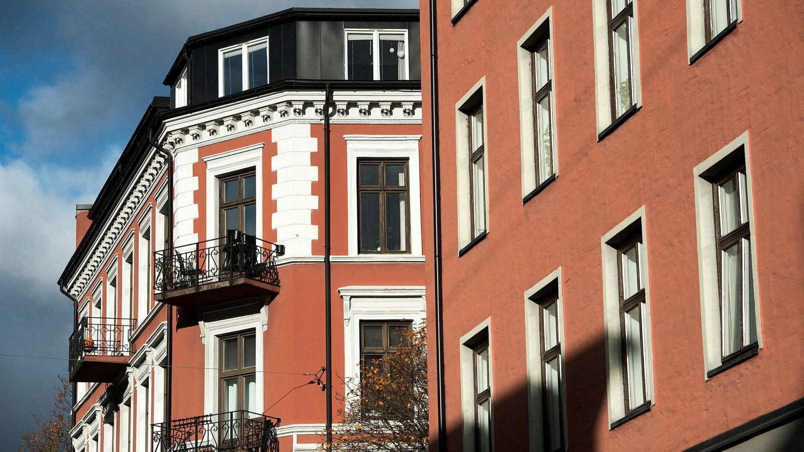 Illustrasjonsfoto av leiligheter på Bislett i Oslo.