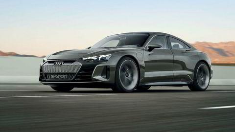 Den ser ikke ueffen ut den nye Audi E-tron GT Concept.