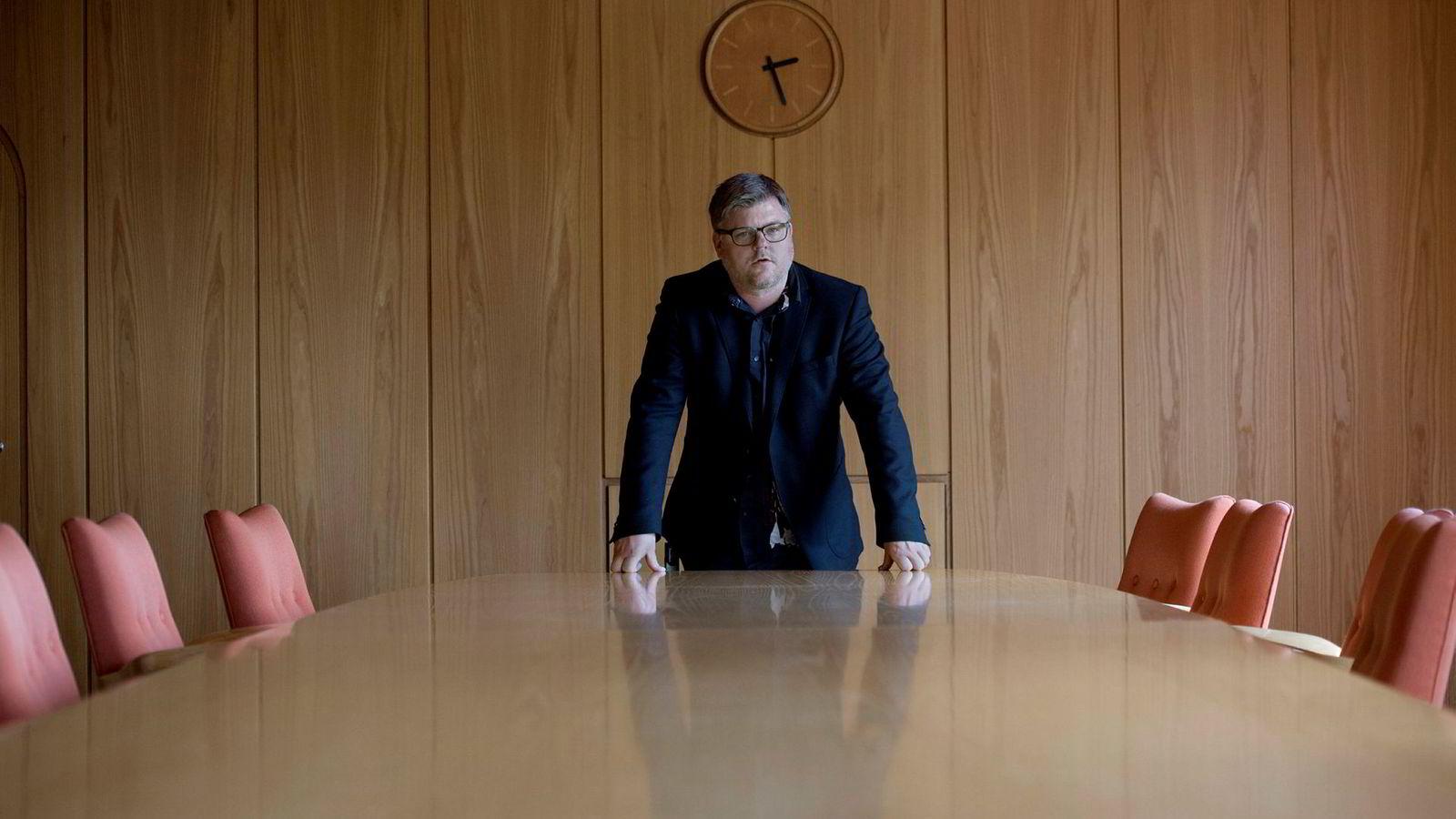 Richard Aune, leder av NRKJ, er ikke fornøyd med forhandlingene så langt, og er beredt til å streike så lenge det blir nødvendig, forteller han.