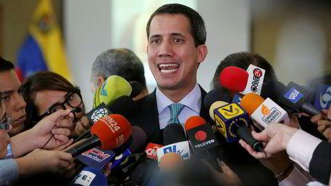 Venezuelas opposisjonsleder Juan Guaidó sier forhandlingene med regjeringen i landet er over.