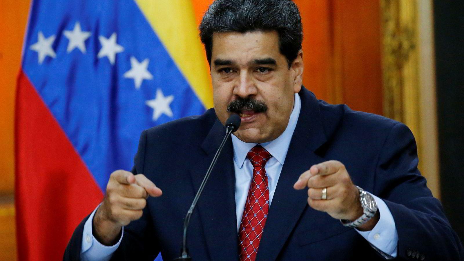 Venezuelas president Nicolas Maduro har sendt sin mann til FNs sikkerhetsråd.