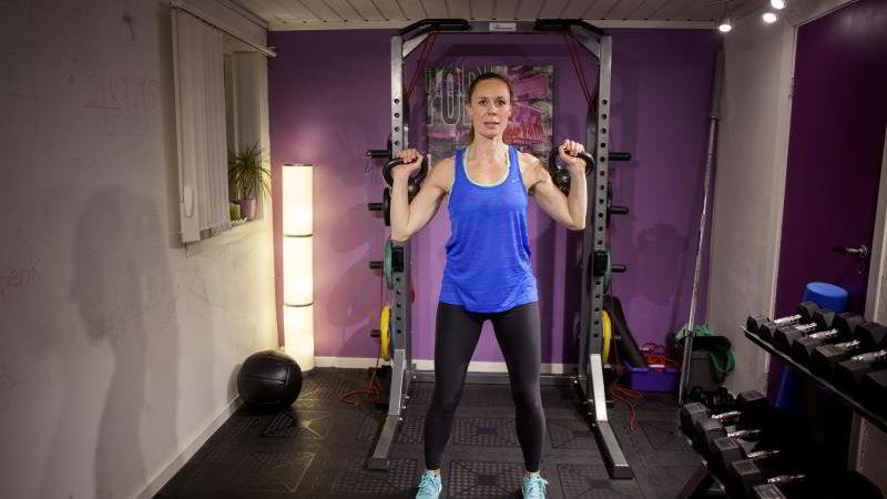 Personlig trener Kristin Rosebø sluttet i sin gamle pt-jobb for å opprette eget selskap.