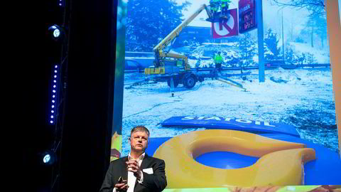 Jacob Schram, tidligere europasjef Circle K, på DLF Høstmøte.