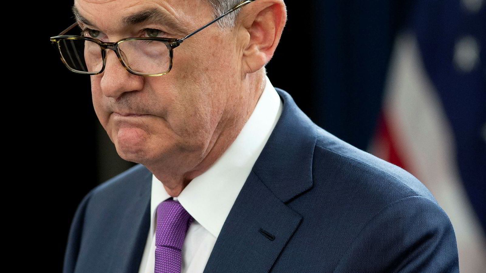 Fed-sjef Jerome Powells uttalelser følges tett av markedsaktørene.