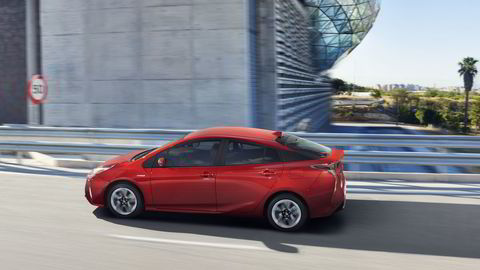Toyota beholder mye av særtrekkene fra tidligere generasjoner Prius. Foto: Toyota