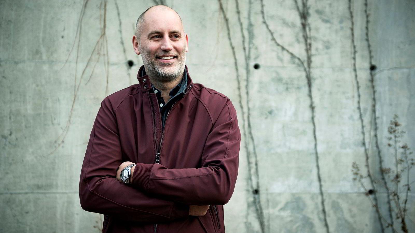 Administrerende direktør Jonas Rinde i Huddly mener selskapet er på riktig vei, tross dårligere resultat enn ventet.
