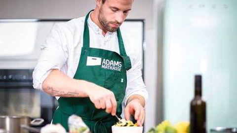Kokken Adam Bjerck står oppført med over ti millioner kroner i inntekt i fjor. Foto: Adams matkasse