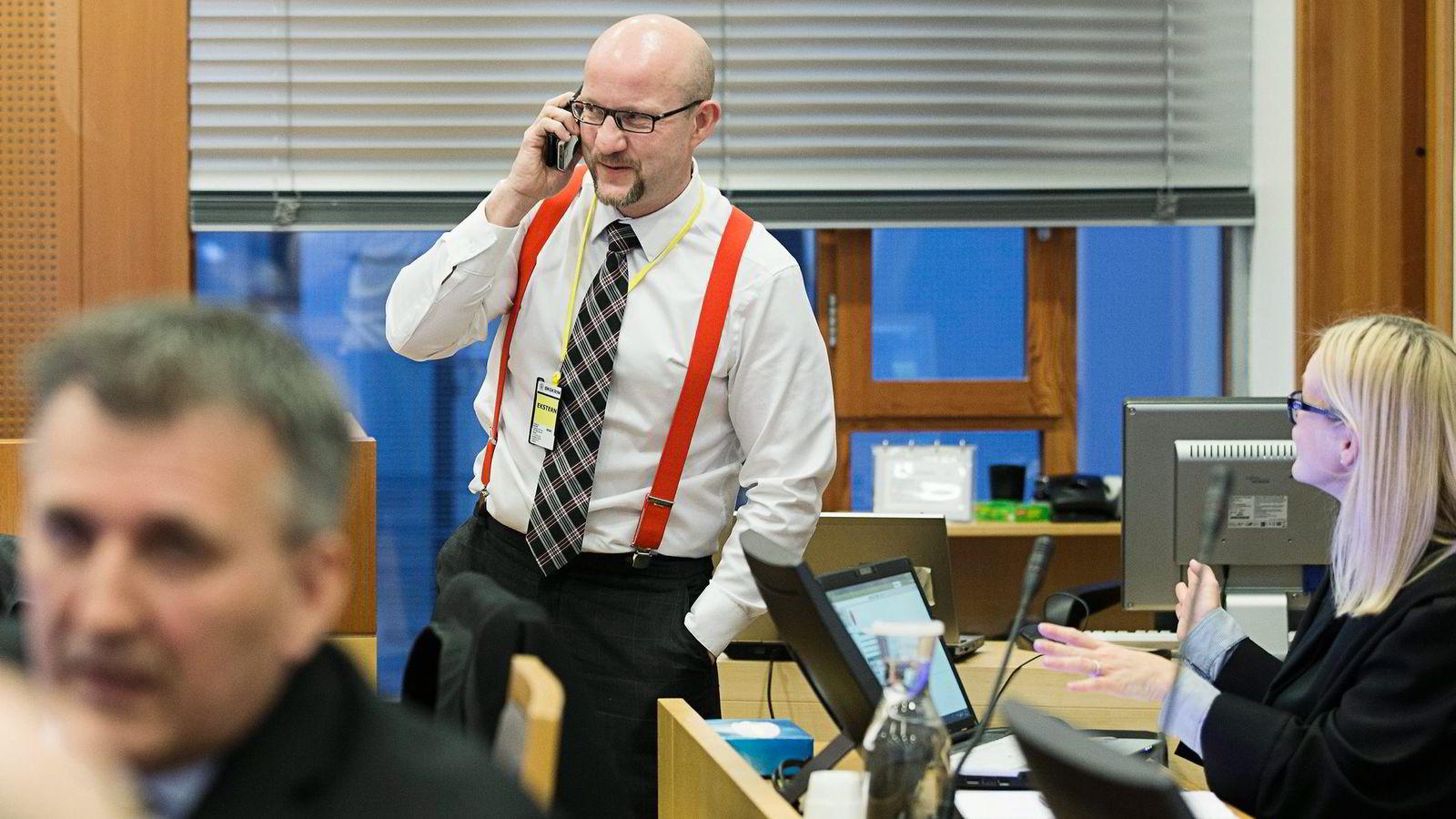 Statsadvokat Geir Evanger skal få bryne seg på 26 forsvarere når det strammer seg til i Lime-saken. Foto: Berit Roald,