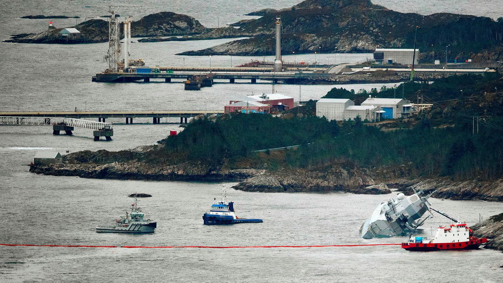 Den norske fregatten