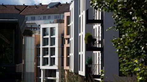 I Oslo er underskuddet så stort hver måned at vi får en fortsatt sterk boligprisvekst, sier administrerende direktør Per Jæger i Boligprodusentenes Forening. Foto: